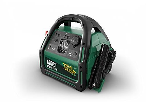 Battery 030-0004-WH Black Booster Starter