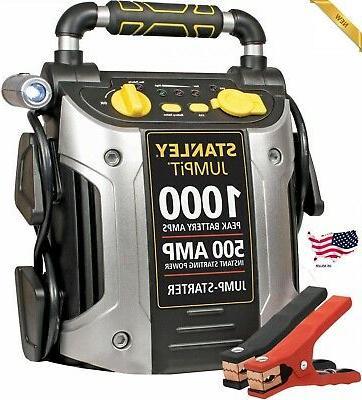 1000 500 amp 12v jump starter