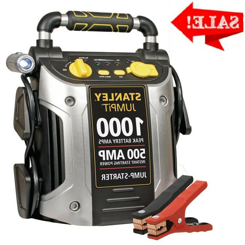 1000 peak 500 instant amps jump starter