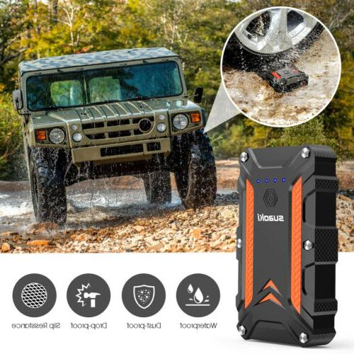12000 1000A Portable Starter Auto Battery Booster Power Bank