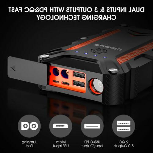 Portable Auto Battery Bank