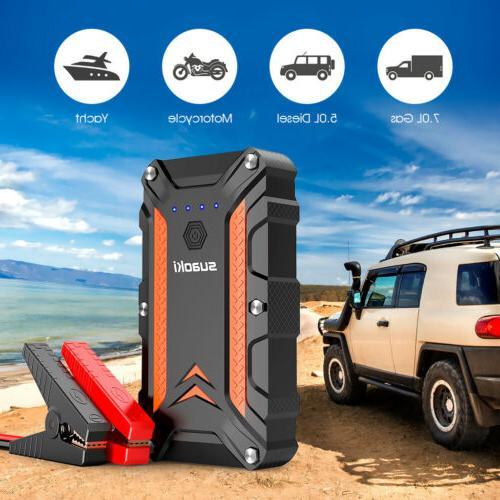 12000 1000A Peak Portable Car Auto Bank