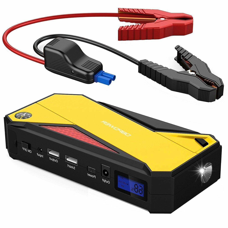 DBPOWER Portable Jump Starter Battery Booster