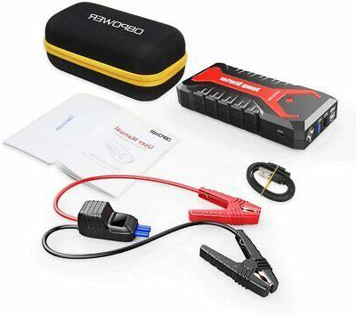DBPOWER Portable Car Jump Starter Battery Booster