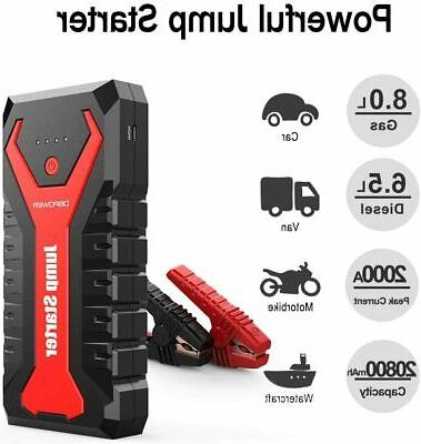 Portable Auto Battery Booster