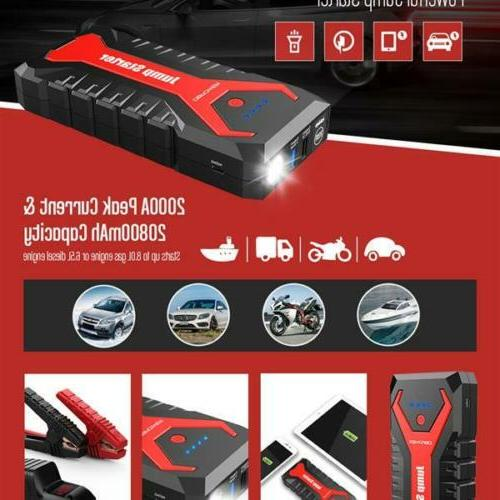 DBPOWER Jump Portable Power Bank Battery Pack