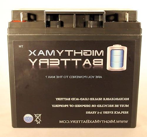 Mighty 22AH Battery Replaces Schumacher Power Source