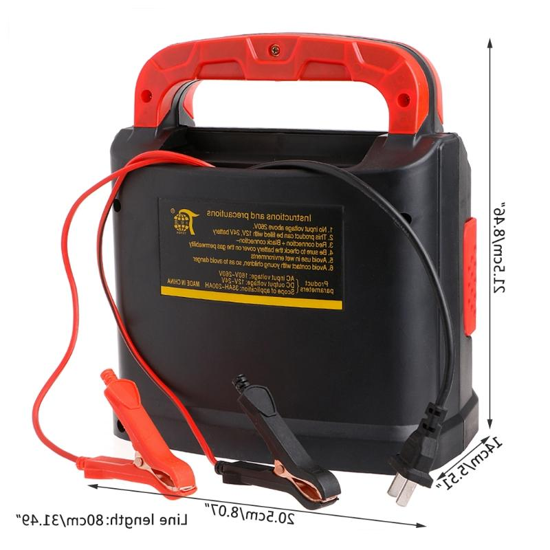 350W 14A AUTO Adjust LCD <font><b>Battery</b></font> 12V-24V Car <font><b>Jump</b></font> Portable