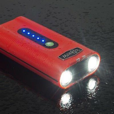 WEEGO Jump Starting Power N441 Ion Flashlight