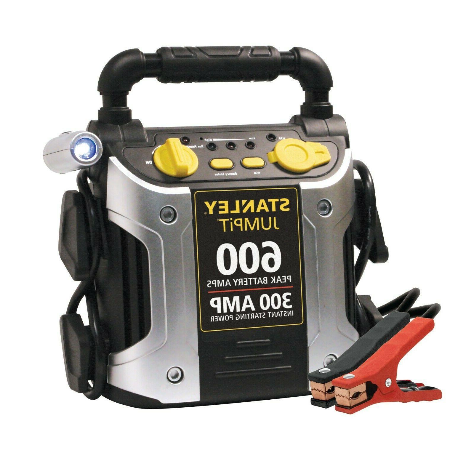 600 300 amp 12v jump starter