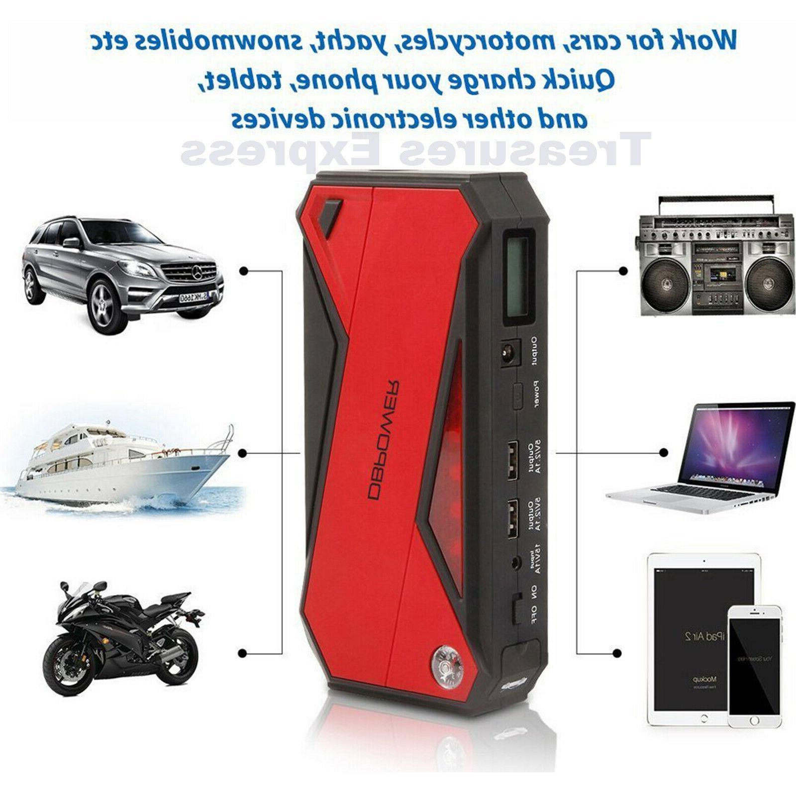 DBPOWER Car Jump Booster Phone