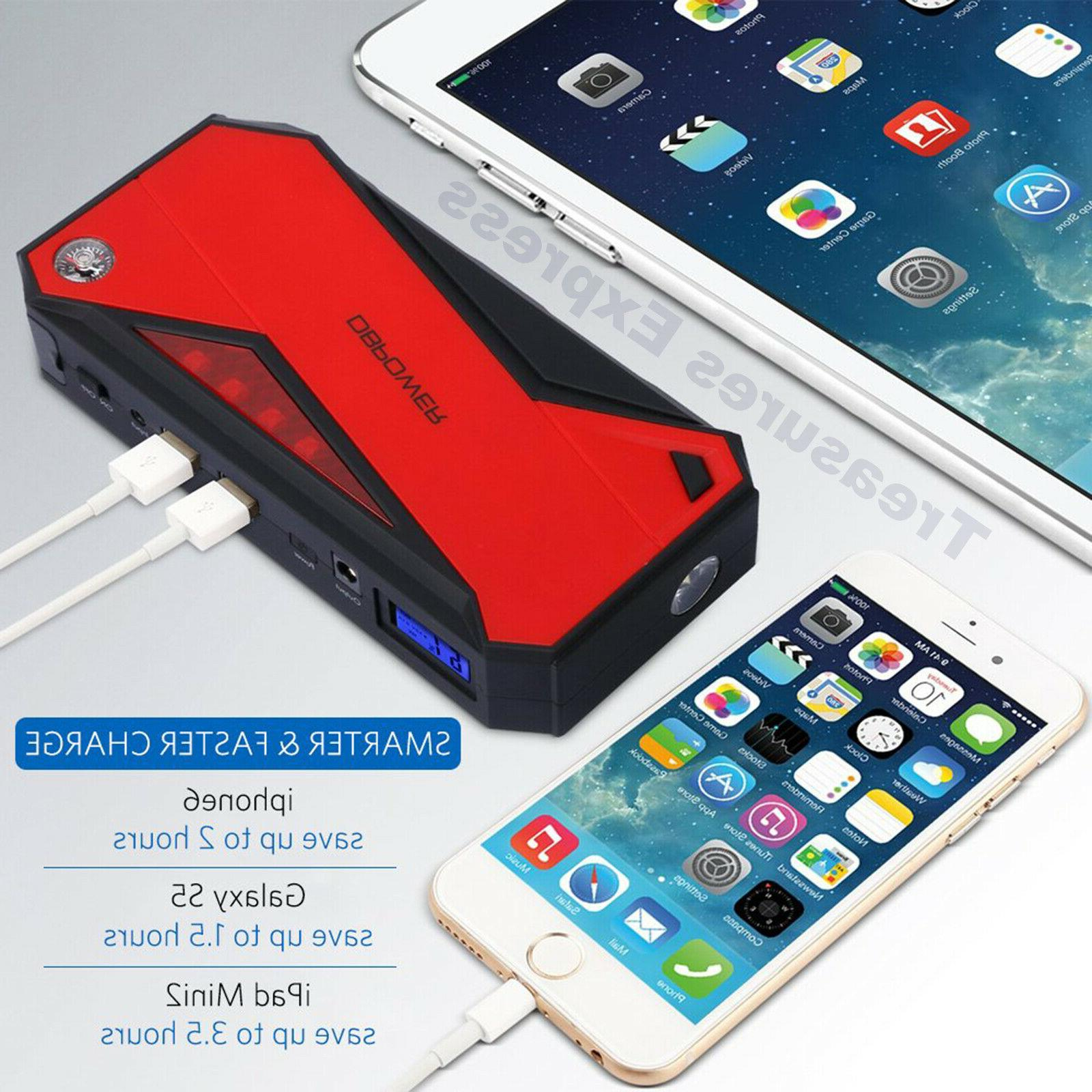 DBPOWER Car Jump Booster Phone Charger