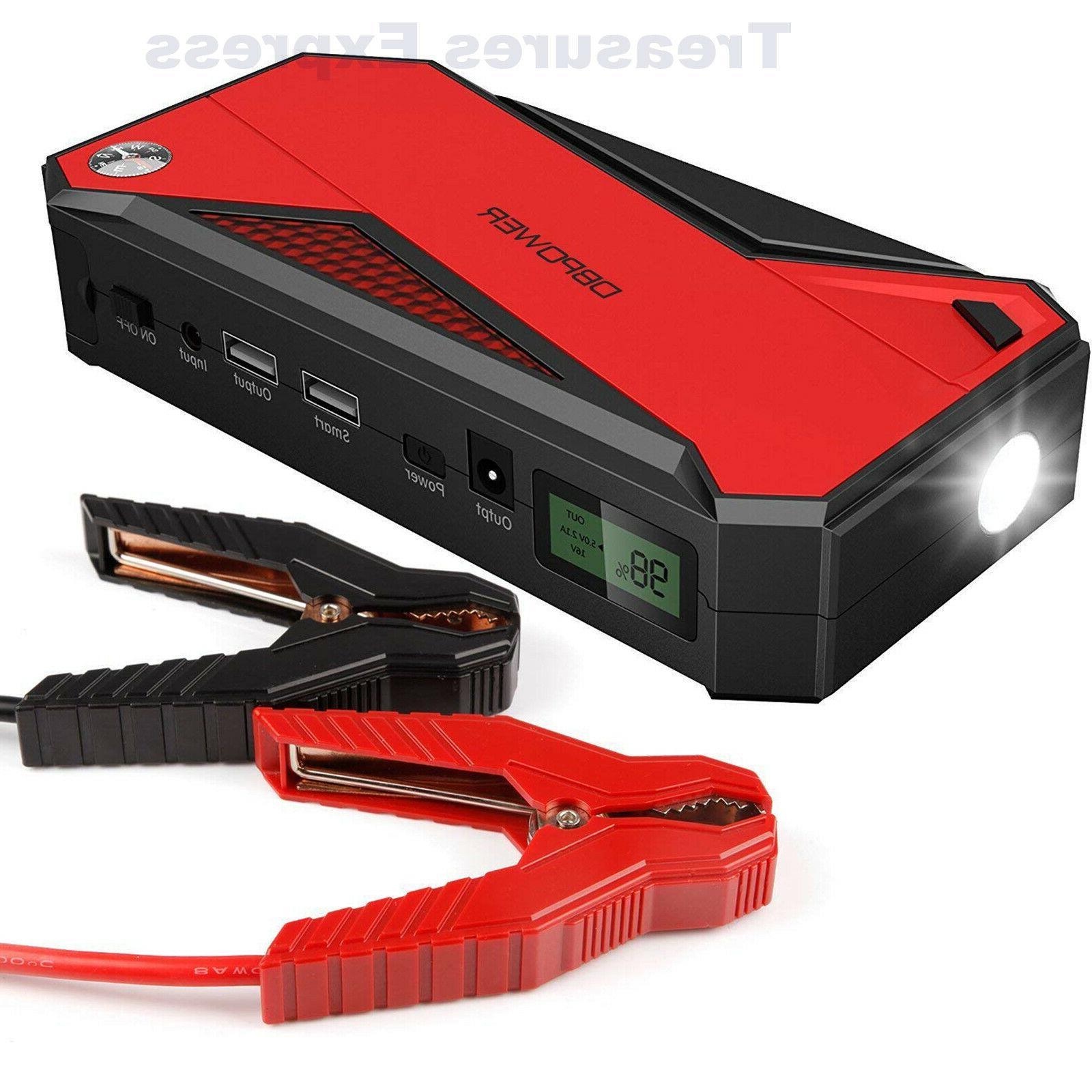 600a 18000mah portable car jump starter battery