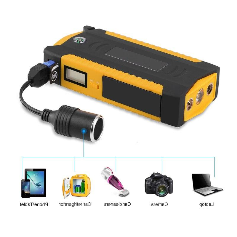 600A 82800mAH Power Bank Car Battery Booster Charger 12v Booster