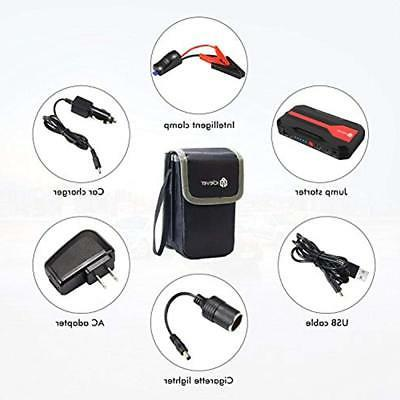 IClever Accessories Peak Portable Jump Starter
