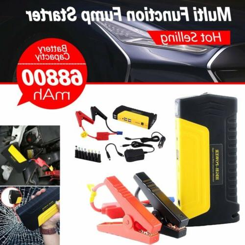 68800mah car jump starter emergency charger booster