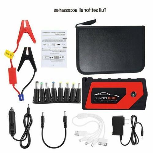 69800mAh 12V Starter Portable USB Bank Battery Booster