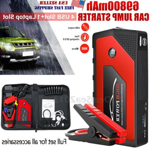 69800mah 12v car jump starter portable usb