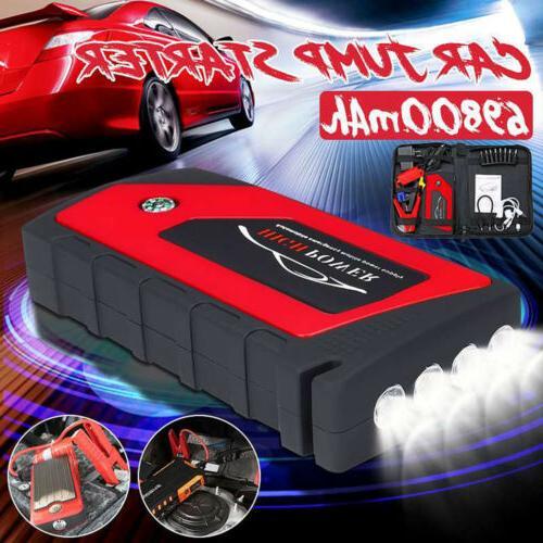 69800mAh Starter Bank Battery 600A