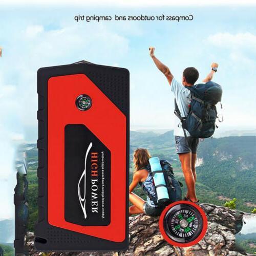 69800mAh 12V Car Starter Portable Bank Clamp 600A