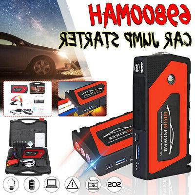 69800mAh Car Portable Power Bank Battery Booster US