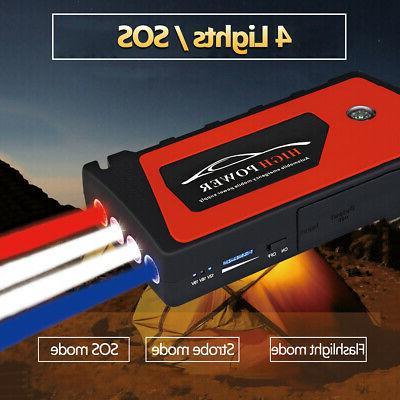 69800mAh Car Starter Portable Power Bank Battery Booster US