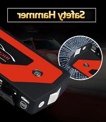 69800mAh Jump Portable USB Battery Booster Clamp US