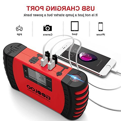 GOOLOO Car Jump Phone Auto Booster Pack, Protection