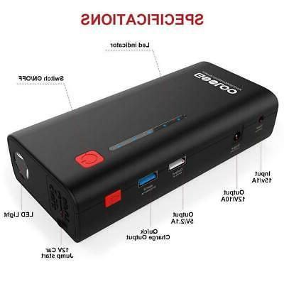 Gooloo 18000mah Supersafe Car With