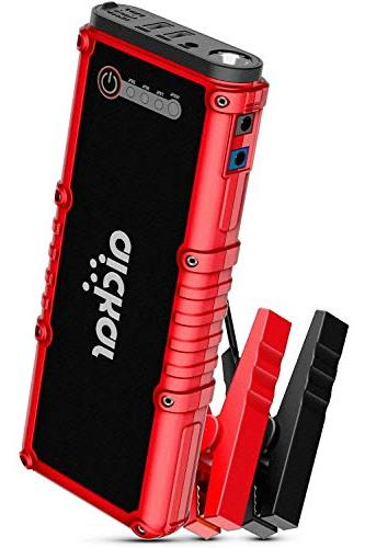 800a peak car jump starter up to
