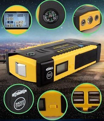82800mAh LCD Display Car Jump Emergency Booster Bank