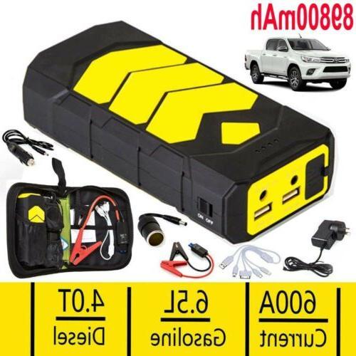 89800mAh Car USB Battery Power