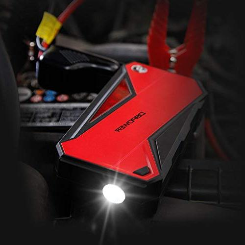 DBPOWER 18000mAh Portable Car Starter Booster and with Smart