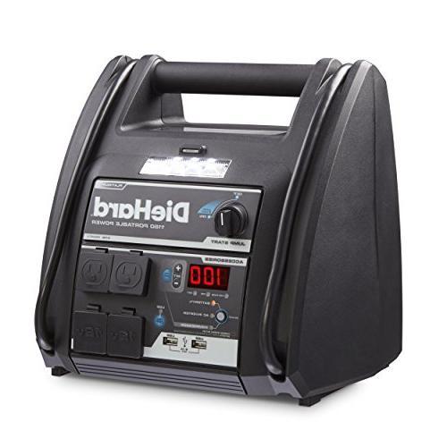 DieHard 71688 1150 Volt Power Source 2-12V 2-110V 100 Auto Air