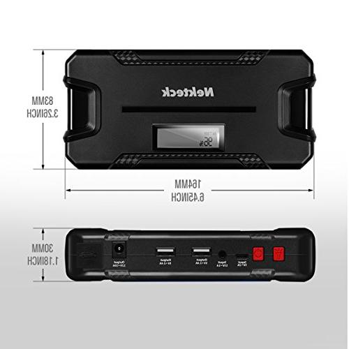 Nekteck Jump Battery Charger with 12000mAh - Jump Auto Jumper for Boat USB