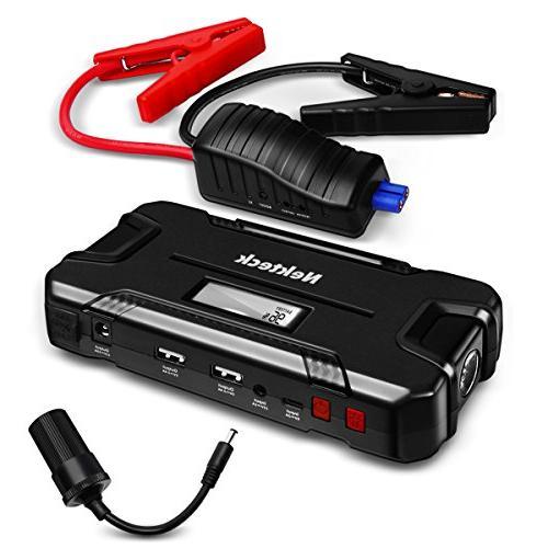 Nekteck Car Jump Starter Portable Power Bank External Batter
