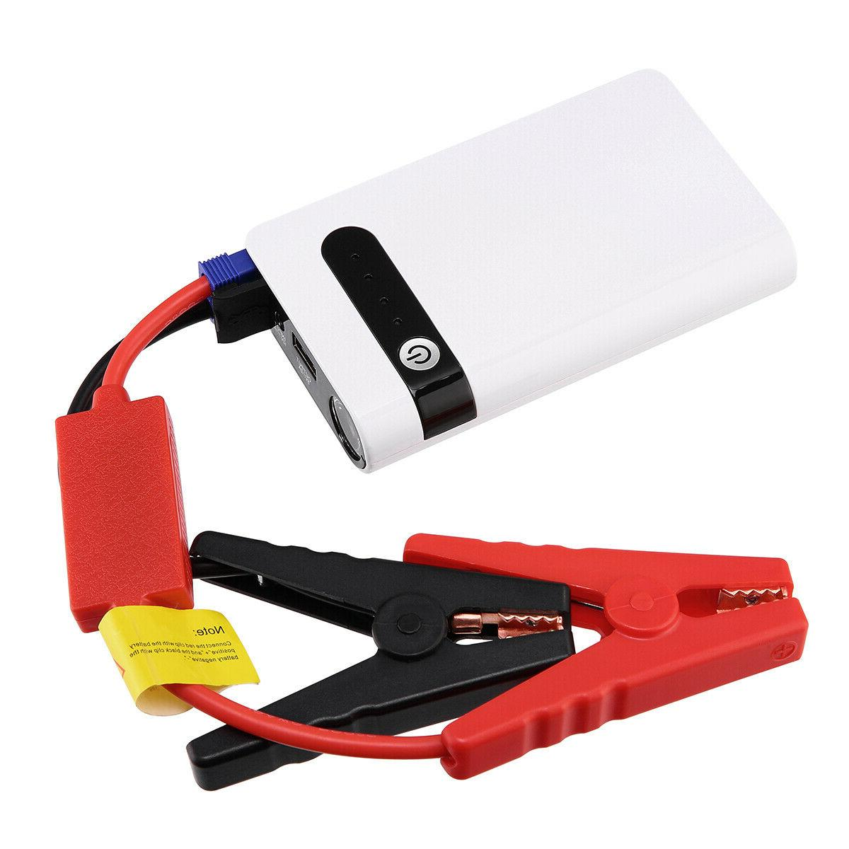 12V Portable Jump Starter Booster Power Charger