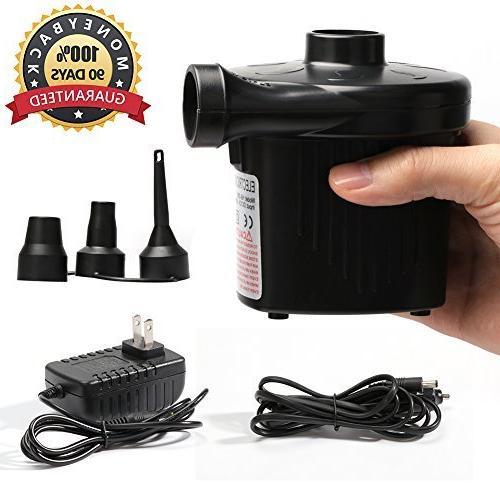air mattress pump electric portable