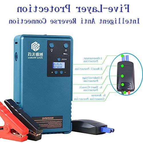 Air Pump &mobile LCD screen Pressure gauger&Outdoor Camping and Peak 85PSI