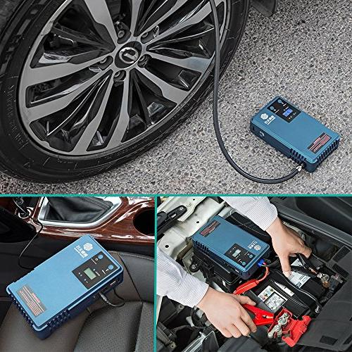 Air Pump Tyre Starter &mobile screen tyre Camping capacity, 85PSI