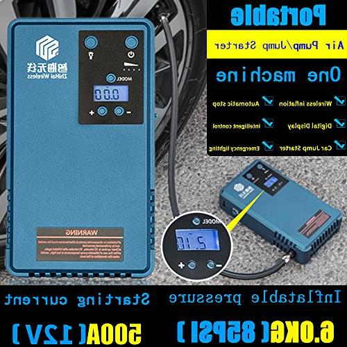 Air Compressor Tyre &mobile screen Pressure Camping lights With capacity, 85PSI