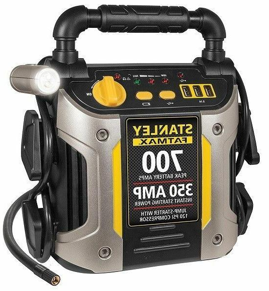 battery jump starter air compressor peak portable
