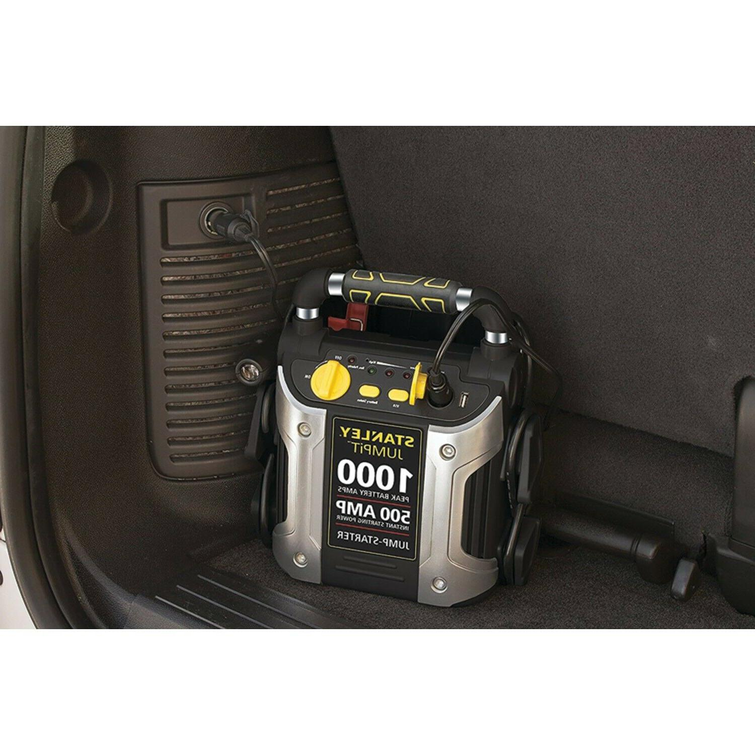 Stanley Battery Jump Starter Charger