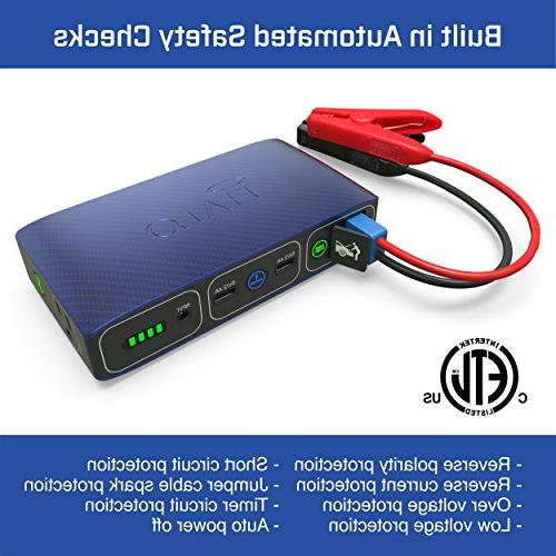 Halo Portable Laptop Charger Car Jump Starter AC Charger -