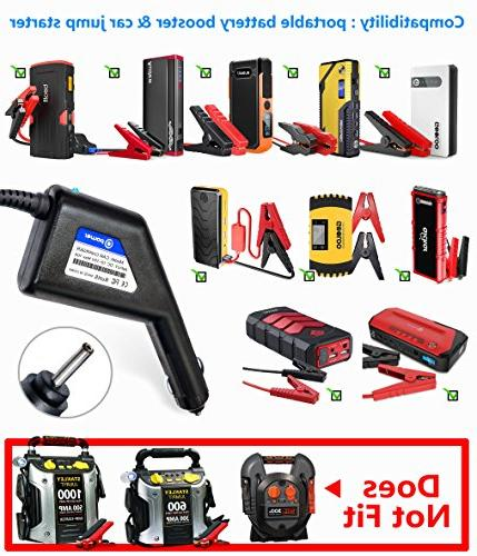 T 15V Charger Compatible with Car Jump Starter 600A Peak Car Starter Auto Battery BEATIT iClever GOOLOO Geek More