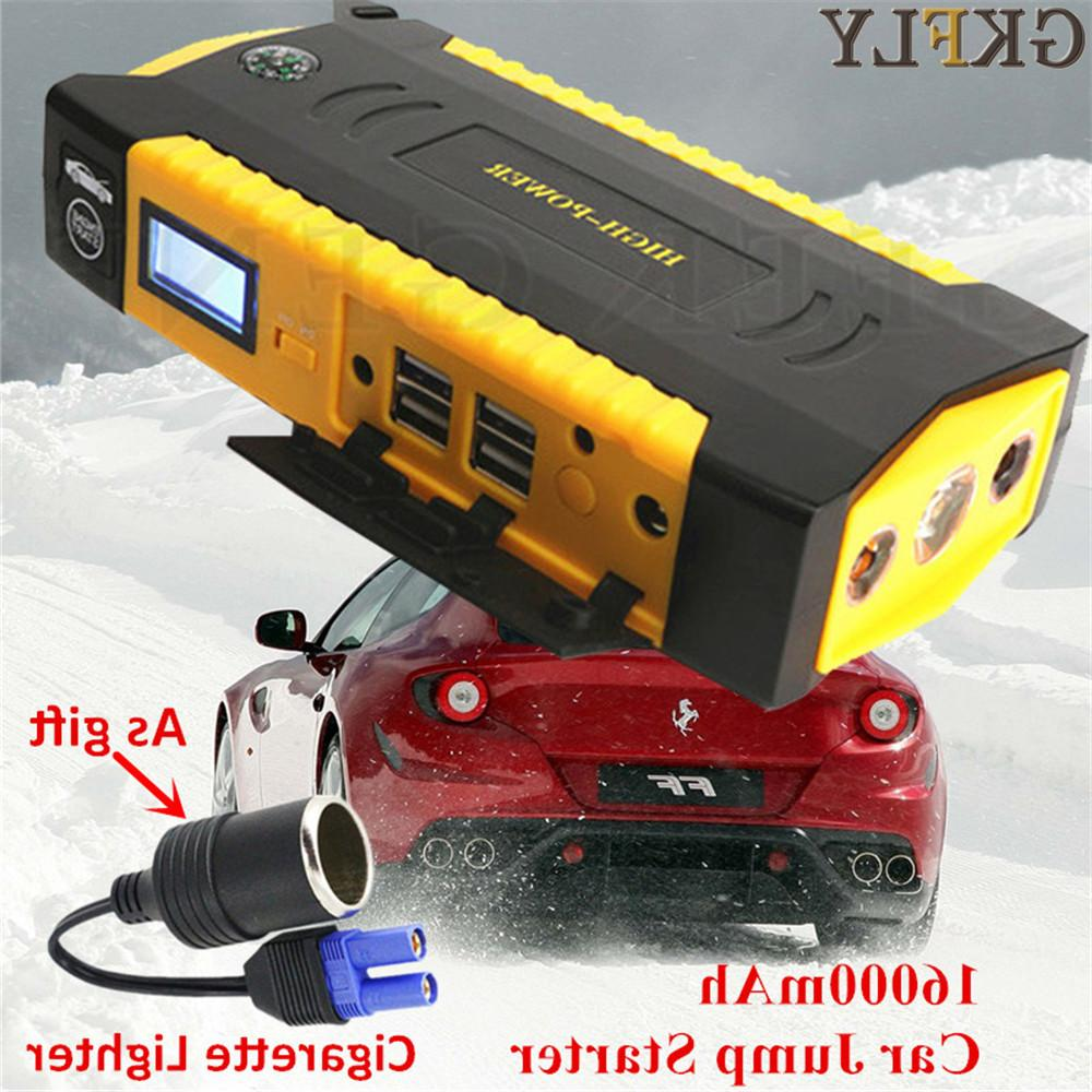 GKFLY Car Multi-Function 16000mAh Starting 600A Car Battery