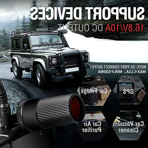 Car Jump 1500A Peak Trekpow By ABOX 12V Power Jumper for All Gasoline/6.5L Engine,
