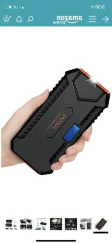 OVVOOV D32A 600A Jump Starter, 14000mAh, New In Box