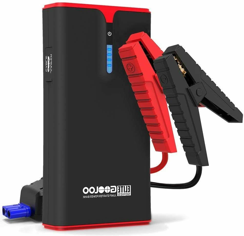 GOOLOO DEGP1200 1500A Peak SuperSafe Car Jump Starter Kit Au