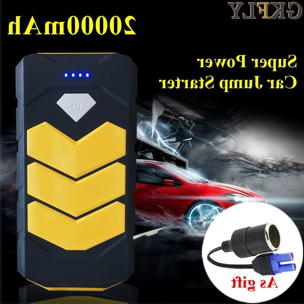GKFLY 20000mAh Device 12V Battery <font><b>Charger</b></font> Petrol Diesel Car <font><b>Starter</b></font> Power Bank Car